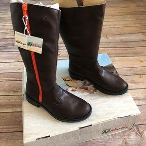 Naturino Vaccetta brown boots